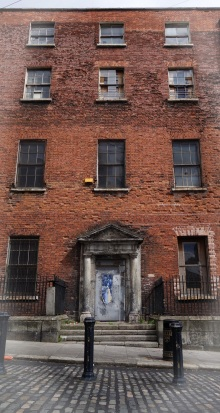 Henrietta St ghost house, Dublin
