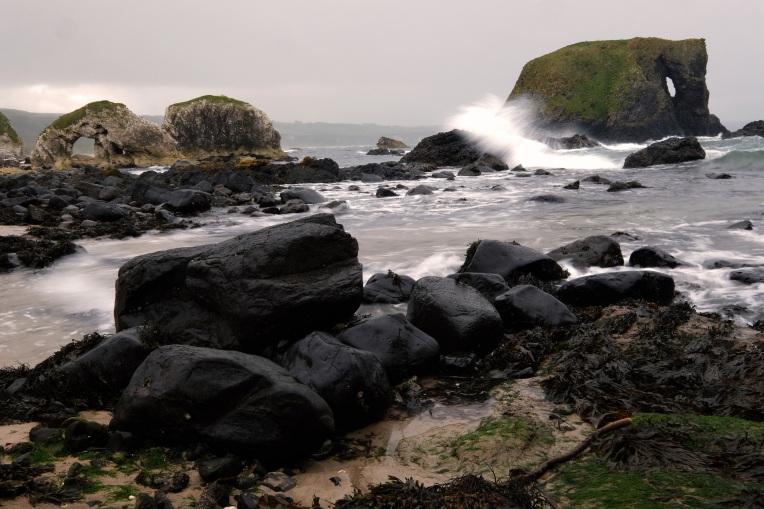Elephant Rock, Antrim, 1/4 secs