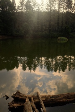 Il laghetto d'Umbra