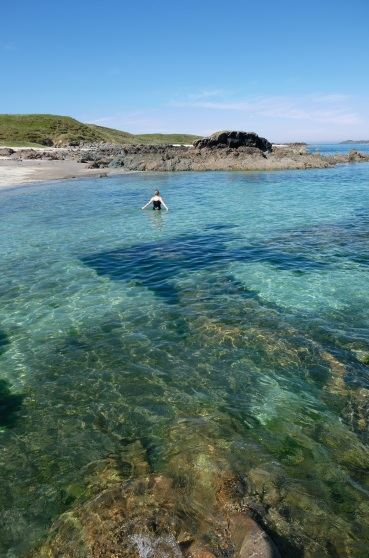 North End Beach, Isle of Iona, Scotland