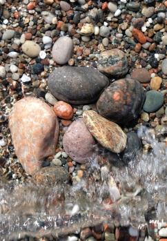 Iona pebbles