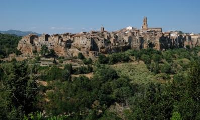 Pitigliano, Toscana, Italia