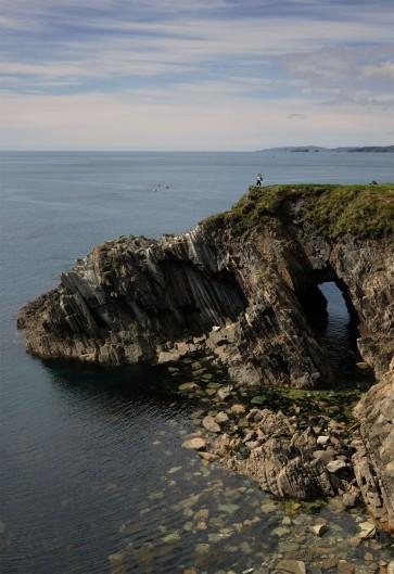 Sea arch, Toe Head